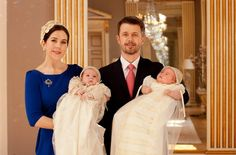 Vincent and Josephine christening