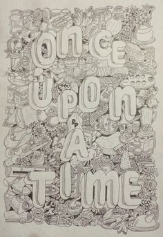 Once upon a time doodleart