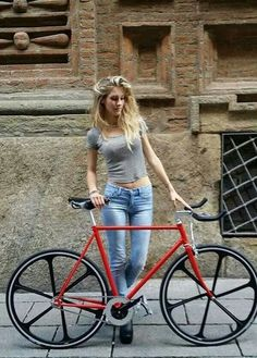Nice Bike, Girl too