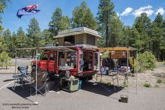 Here are the top sleep in side overland adventuremobiles that I spotted around the 2017 Overland Expo West in Flagstaff, AZ.