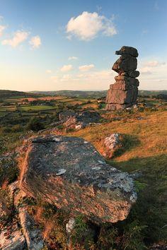 Bowerman's Nose, Dartmoor, Devon, England, UK