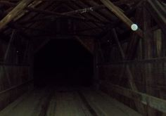 Orbs are beautiful. Last night at the bridge used in the ebook 'From the Rafters' Amazon.com