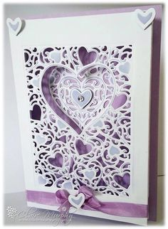 Crafter's Companion Adore create a card die