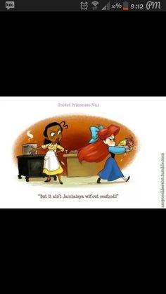 if the princesses ever met