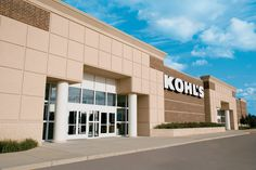 Kohl's Storefront Sign