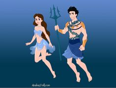 Sally Jackson and Poseidon