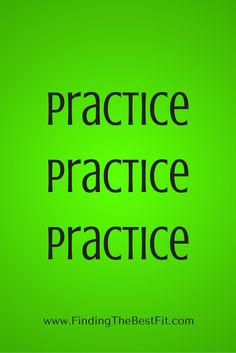 When you are getting ready for an interview - practice, practice, practice!! Research commonly asked questions and practice answering them!