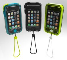 Sweet waterproof iPhone case... shut the front door!!!! i think... no wait i KNOW i need this... and my hubby would agree...