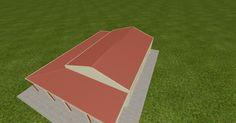 Cool 3D #marketing http://ift.tt/2otD3ZE #barn #workshop #greenhouse #garage #roofing #DIY