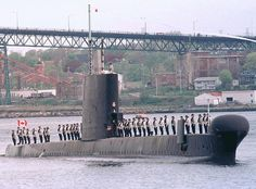 HMCS Ojibwa, decommissioning May Canada. One of Canada's Cold War O-Boats was relocated November 2012 to Port Burwell Naval Museum, Ontario. Royal Canadian Navy, Royal Navy, Vulgar Display Of Power, Strategic Air Command, Navy Day, Navy Ships, Submarines, War Machine, Vietnam War