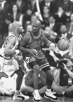 Posting Up Alvin Robertson, '95-'96.
