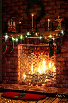 Christmas Firewood Under The Chimney christmas christmas pictures christmas gifs christmas images holiday gifs christmas photos Christmas Fireplace, Christmas Mantels, Christmas Scenes, Noel Christmas, Christmas Images, Country Christmas, Winter Christmas, All Things Christmas, Christmas Lights