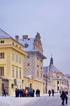 Hradčanské náměstí - Prague, Czech Republic
