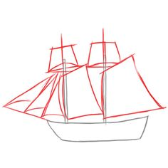 How to Draw a Pirate Ship Doodle  YouTube  Homeschool Art