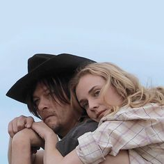 "Norman Reedus and Diane Kruger (Diego & Romy) in the movie ""Sky"""