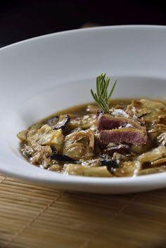 Gazpachos manchegos galianos con carne de caza y sestas | Recetario Canariasgourmet!