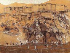 Peinture de Jacques Majorelle.(1886-1962)
