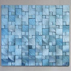 Dimensional Metallics from Architectural Systems Stone Mosaic Tile, Mosaic Tiles, Wood Panel Walls, Wood Wall, Wall Cladding, Decorative Tile, Natural Stones, Interior And Exterior, Pinterest Pin