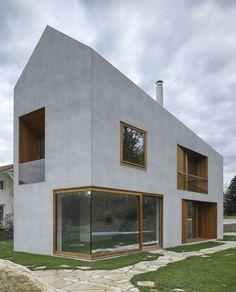 Clavien Rossier, Wohnhaus Genfer See