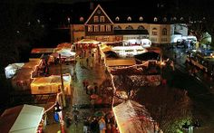 German Christmas Market  Dahlhausen Weihnachtsmarkt - repinned by www.mybestgermanrecipes.com