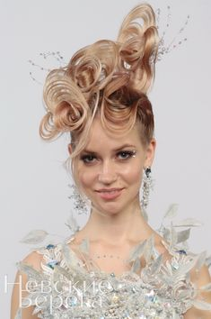 Love! 60's meet Victorian By Guido Palau for Dolce