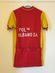 Vintage Albano 80% Wool Santini Cycling Jersey Perfect For L'Eroica   eBay