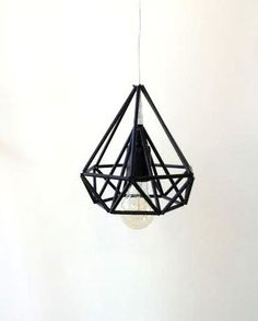 Himmeli light Cage pendant lamp industrial metal by LightCookie