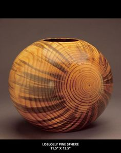 Loblolly Pine wood turning