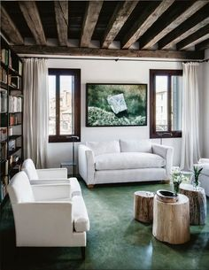 House tour: an interior designer's six-bedroom villa on the shores of a Venice canal - Vogue Living