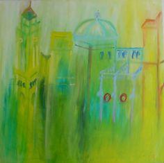 TaPinu2 Malta, oil on canvas, Öl auf Leinwand von Sabine Katterle