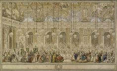 Carnival at Versailles, and the appearance of the Marquise de Pompadour