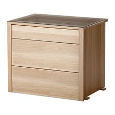 "KOMPLEMENT Interior chest of drawers - white stained oak, 29 1/2x22 7/8x24 3/8 "" - IKEA"