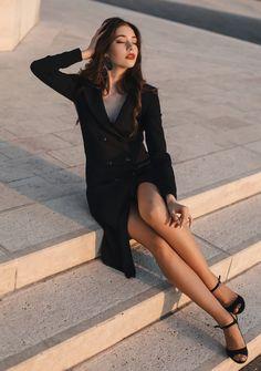 tuxedo Every Woman, Tuxedo, Blazer, Jackets, Dresses, Women, Fashion, Down Jackets, Vestidos