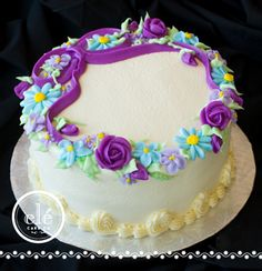 I love white cake with butter cream icing from Ele' Bakery