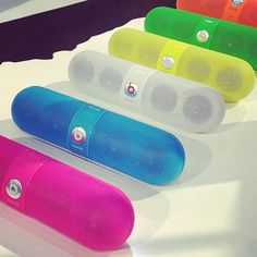 Beats by Dr Dre Neon Pill Speaker