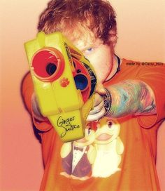 Ed Sheeran. Ginger justice.