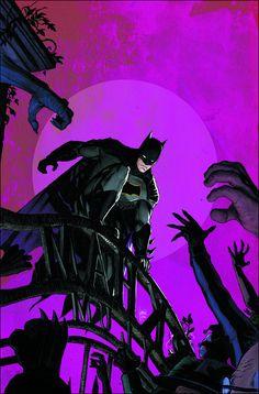 Batman TP VOL 02 I Am Suicide: Batman has always been crazy. This is suicide! In order to retrieve Psycho-Pirate and save Gotham Gi Nightwing, Batgirl, Catwoman, Arte Dc Comics, Hq Marvel, Marvel Comics, Comic Superheroes, Gotham, Comic Books Art