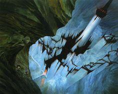 john_howe_middle-earth_the endless stair.jpg 1.600×1.276 píxeles