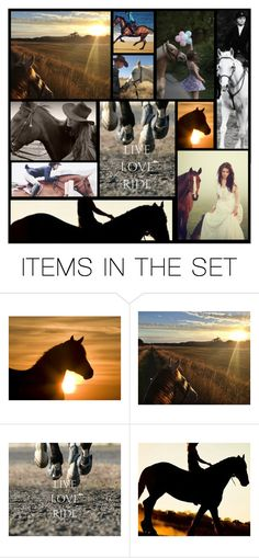 """""""live...love....ride"""" by heartandsoul ❤ liked on Polyvore featuring art"""