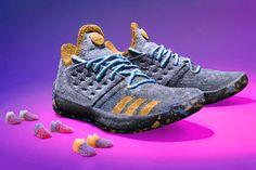 buy popular 70ce1 010fd Trolli Creates  2,677 USD Life-Sized Signature James Harden Sneakers to  Celebrate His MVP Win