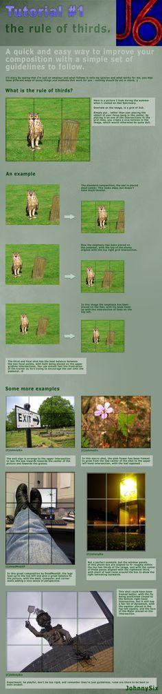 Rule of Thirds Tut by JohnnySix.deviantart.com on @deviantART