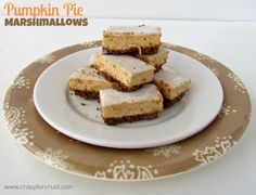 pumpkin pie marshmallows @crazyforcrust