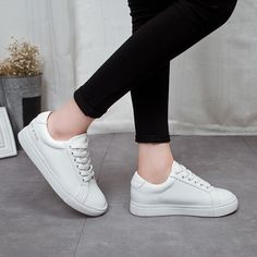 Find More Women's Casual Shoes Information about 2016 New Arrival Women Casual White Shoes Lace Up Style Fashion Platform shoes woman flat heighten Students shoes Free Shipping,High Quality shoe room shoes,China shoe dryer Suppliers, Cheap shoes breathable from YiQi Trading Co. ,Ltd. on Aliexpress.com