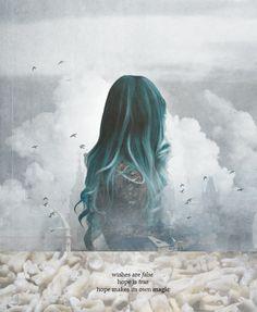 Deseos son falsos Esperanza es verdadera Esperanza hace su propia magia -Daughter of Smoke and Bone