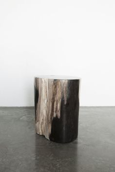 Petrified Wood Stool, available from TypeO.se