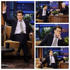 The one and only Charlie Sheen. (1/30/13)