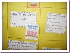 Three Little Pigs literature study ideas