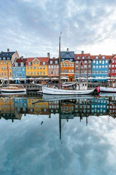 Twice now I've taken my kids around the world in 2-3 weeks, letting them choose all destinations and activities. This was on our most recent RTW trip - early morning in Nyhavn (Copenhagen, Denmark).