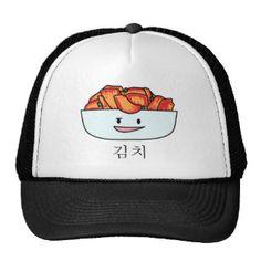 Happy Kimchi Kimchee Bowl - Happy Foods Designs Trucker Hat