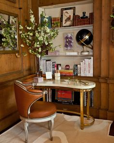 Celerie Kemble's study at the Kips Bay Showhouse 2011